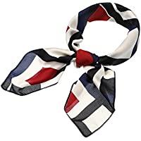 SATINIOR Silk Like Scarf Square Scarf Satin Headscarf Neck Scarves for Women and Girls