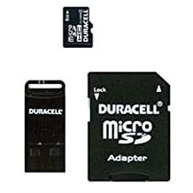 Duracell DU3IN104GR 4GB Micro Secure Digital High Capacity - SDHC - Card with Adapter
