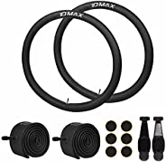 26 Inch Bike Tube, IDMAX 26'' x 1.95/2.10/2.125 Replacement Inner Tire Tubes 2 Pack, Heavy Duty Thorn