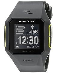 Rip Curl Men's A1111-CHA SearchGPS Digital Display Quartz Grey Watch