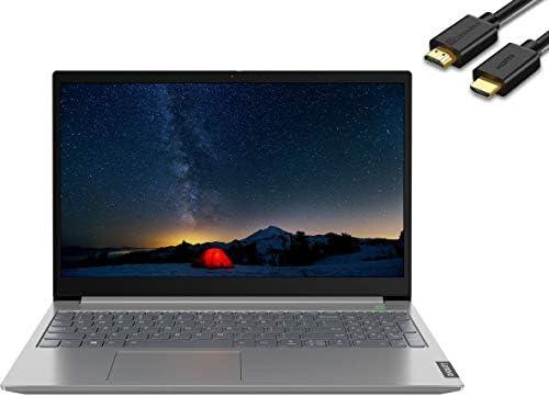 Lenovo ThinkBook 15 15.6″ IPS FHD (1920×1080) Business Laptop (Intel Quad Core i7-1065G7, 32GB DDR4, 1TB SSD) Backlit, Fingerprint, Type-C, RJ-45, Windows 10 Pro, IST Computers HDMI Cable
