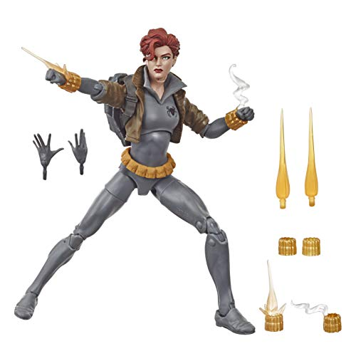 Boneco Marvel Legends Black Widow - Viúva Negra Traje Cinza - E8713 - Hasbro