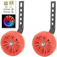 YJIA Bike Thickened Flash Mute Training Wheel for 12 14 16 18 20 inch