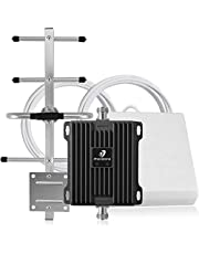 Cell Phone Signal Booster for Canada - Dual Band Home Mobile Repeater Amplifier Kit with Hign Gain Antennas   ISED Approved