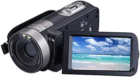 Digital Video Camera Camcorders With IR Night Vision 24.0 Mega pixels, WEILIANTE Portable Mini Handheld Camcorder HD 1080P Max. DV 3