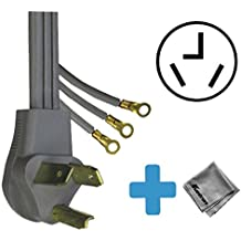 Replacement Cord Cable for Bosch - Ascenta 4.0 Cu. Ft. 15-Cycle Large-Capacity Electric Condensation/Ventless Dryer (WTB86200UC)
