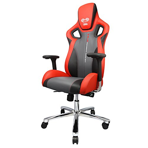 E-Blue eec306reaa-ia Cobra-x Rojo Metal PC Gaming Silla – (> en Juegos Gaming sillas)