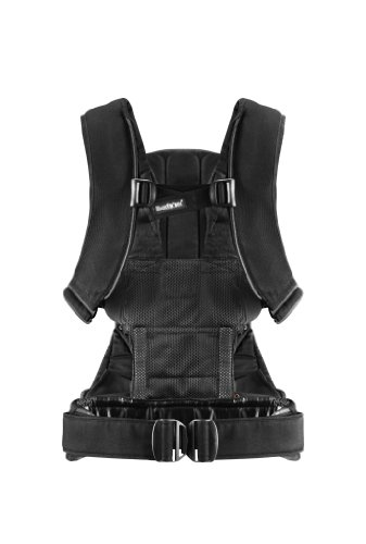 BABYBJORN Baby Carrier One – Black, Cotton
