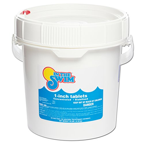 In The Swim 1 Inch Pool Chlorine Tablets 10 lbs.