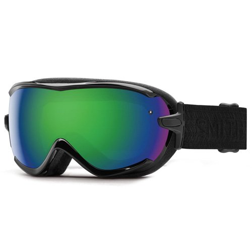 SMITH Virtue Sph Masque de Ski Femme Black Eclipse/Green Solx