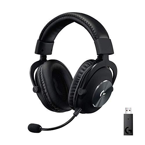 🥇 Logitech G PRO X Auriculares Inalámbricos Lightspeed Gaming