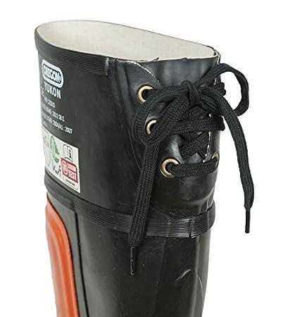 89a73a3052a Oregon 295385/42 - Bota de seguridad de goma protectora yukon motosierra:  Amazon.es: Bricolaje y herramientas