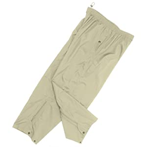 Monterey Club Men's Lightweight Waterproof Rain Pants #1861 (Khaki,2X-Large)