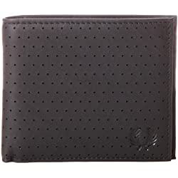Fred Perry Men's Perforated Coin Wallet
