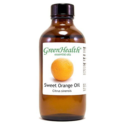 4 oz Sweet Orange Essential Oil (100% Pure & Uncut) - GreenHealth by Greenhealth by Greenhealth