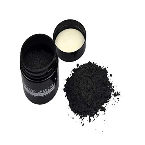 UNKE Teeth Whitener Teeth Whitening Powder Organic Activated Charcoal Bamboo