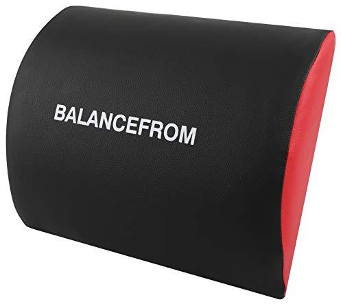 BalanceFrom Core Mat Ab Mat Abdominal Mat Sit-Up Pad - Abdominal Trainer Mat (Small)