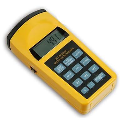 Ultrasonic Distance Area Volume Meter Measurer Laser