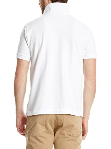 POLO CLUB Herren Poloshirt Academy weiss XL