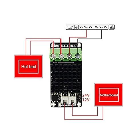 rokoo módulo de Mos MOSFET MOSFET de controlador de calefacción de ...