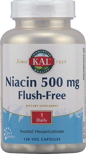 Kal Niacin Flush (KAL Niacin, Flush Free 120)