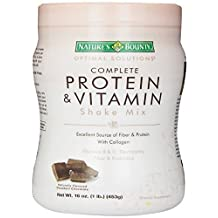 Nature's Bounty Chocolate Flavored Protein Shake Mix, 16 Ounce by Nature's Bounty