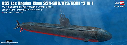 Hobby Boss USS Los Angeles Class SSN-688/VLS/688I 3-in-1 Boa