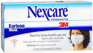 Nexcare Earloop Mask - 20 ea by Nexcare