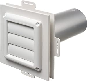 Arlington Industries Dv1 1 Dryer Vent Exhaust Mounting Block 1 Pack Wall Plates