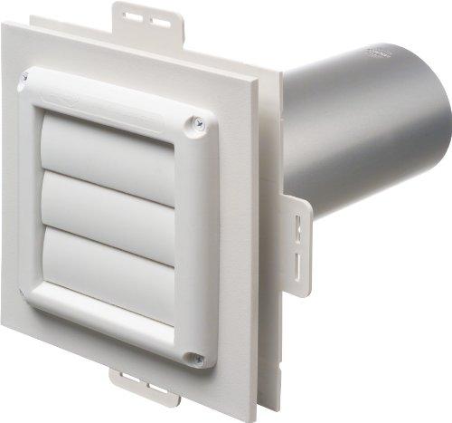 Vinyl Siding Vent - Arlington Industries DV1-1 Dryer Vent Exhaust Mounting Block, 1-Pack