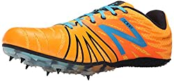 New Balance USD100V1 Track Spike Shoe, Orange/Blue, 14 D US