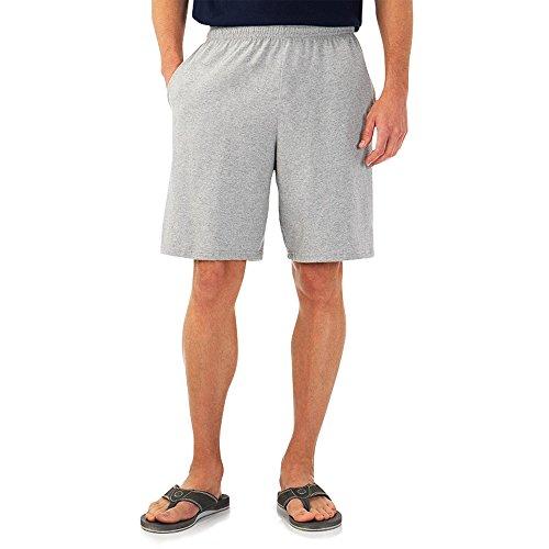 Of The Jogging Uomo Da Premium Pantaloncini Fruit Loom Grigio fqdxfH