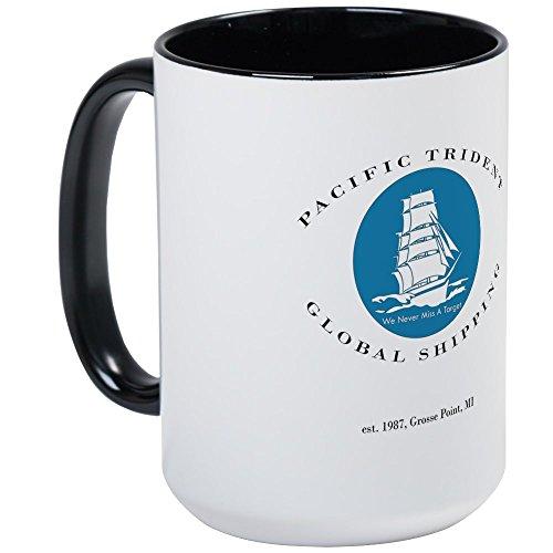 Cafepress   Pacific Trident Global Shipping Large Mug   Coffee Mug  Large 15 Oz  White Coffee Cup