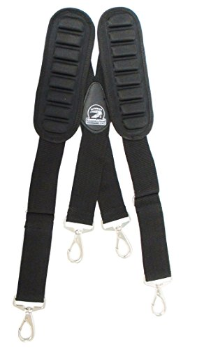 TradeGear Suspenders 207019 Heavy-Duty And Durable Adjustable Tool Belt Suspenders With Pro Comfort Padding Partnered with Gatorback Contractor Pro by TradeGear (Image #2)