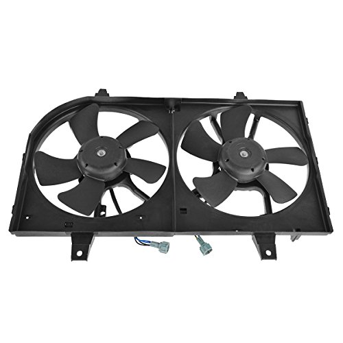 Maxima Radiator Cooling Fan Assembly (Radiator Cooling Fan Motor Assembly for 00-01 Nissan Maxima I30)