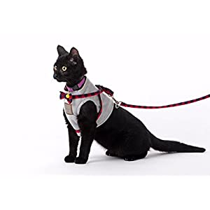Bestag Cat Harnesses with Leash and Collar