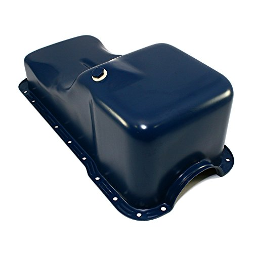 (Assault Racing Products A9532 for Ford 351W Windsor Dark Blue Stock Style 5qt Oil Pan )