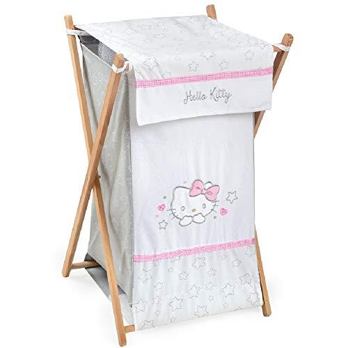 - [Hello Kitty Stars] Crib Bedding Accessory - Hamper/Laundry Basket