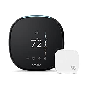 Ecobee4 Alexa-Enabled Thermostat with Sensor from ecobee
