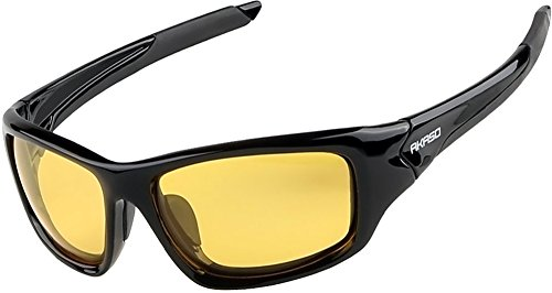 Polarized Sunglasses for Men & Women - AKASO Sports Sunglasses for Fishing, Driving, Golfing, Hiking, Running, Cycling and Casual Uses, 100% UV Protection Sport Sunglasses, Stylish and - Resistant Sunglasses Impact