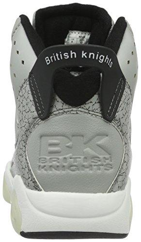 British 09 Mavik High Grau black grey Herren Top Knights 8THpwnxrq8