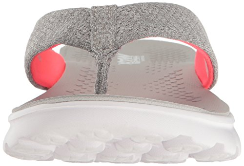 400 Skechers On the go Tongs Rose Essence Femmes Gris Pour tYdwxnvq