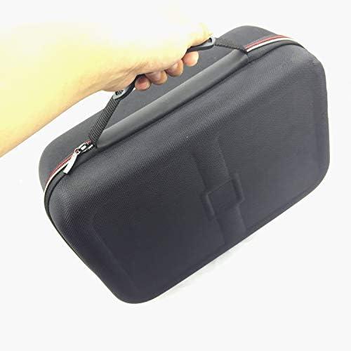 MeterMall - Funda para Consola Nintendo Switch Pro para Consola de Juegos, portátil, Bolsa de Viaje Acolchada para Interior y protección de Accesorios: Amazon.es: Coche y moto
