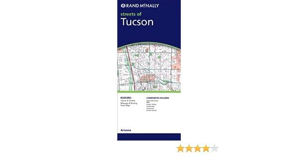 Metropolitan Tucson Street Map & Guide