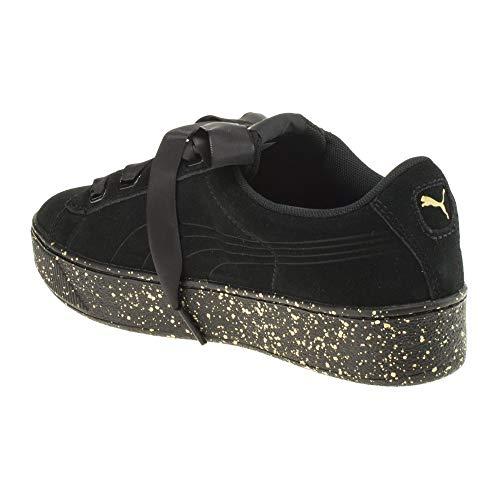 366815 Donna Sneakers Nero Puma 01 Bassa Iwn1p