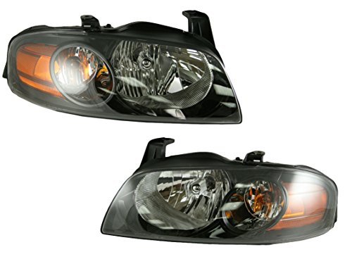 Headlights Headlamps Lamp Pair Set for 04-06 Nissan Sentra SE-R Spec V