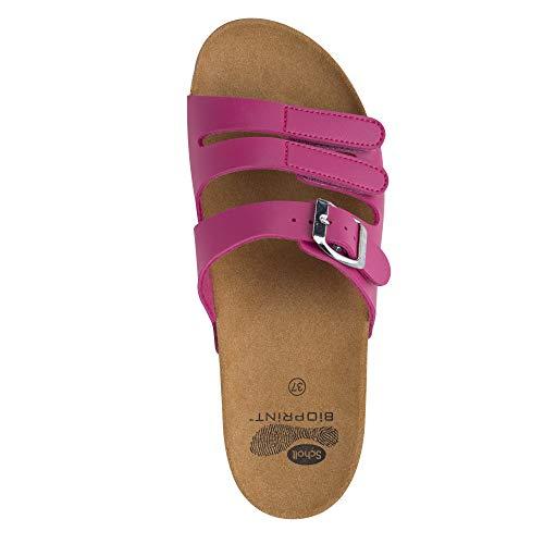 Donna Fucsia Ss1 Taglia nbsp;spikey Ss16 nbsp;sandali Colore Per 36 Scholl giallo PgXfxx