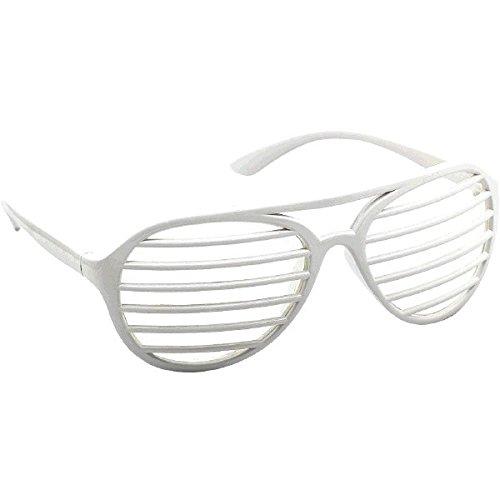 Amscan Slot Eyeglasses, Party Accessory, White]()