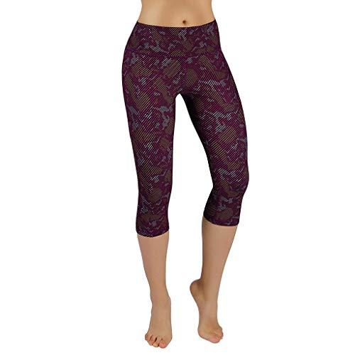 Pongfunsy Women's Leggings, Women's High Waist Pocket Camouflage Yoga Pants Ladies Tummy Control Running Sport Leggings