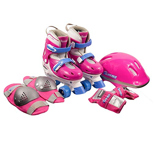 Chicago Girls Quad Roller Skate Combo, Small (Roller Skates Girls Size 7)